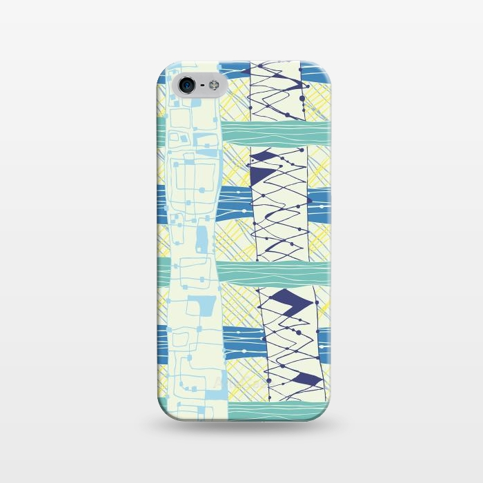 AC1243233, Phone Cases, iPhone 5/5E/5s, SlimFit, MaJoBV, Doodled Check, Designers,