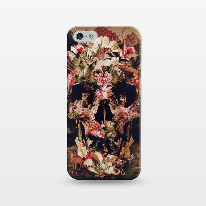 AC1243273, Phone Cases, iPhone 5/5E/5s, SlimFit, Ali Gulec, Jungle Skull, Designers,