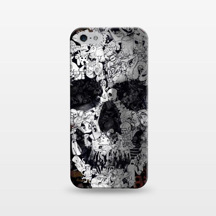 AC1243278, Phone Cases, iPhone 5/5E/5s, SlimFit, Ali Gulec, Doodle, Designers,