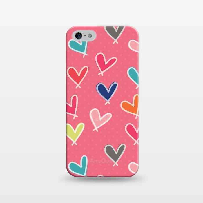 AC1243282, Phone Cases, iPhone 5/5E/5s, SlimFit, Rosie Simons, Pink Blow Me One Last Kiss, Designers,