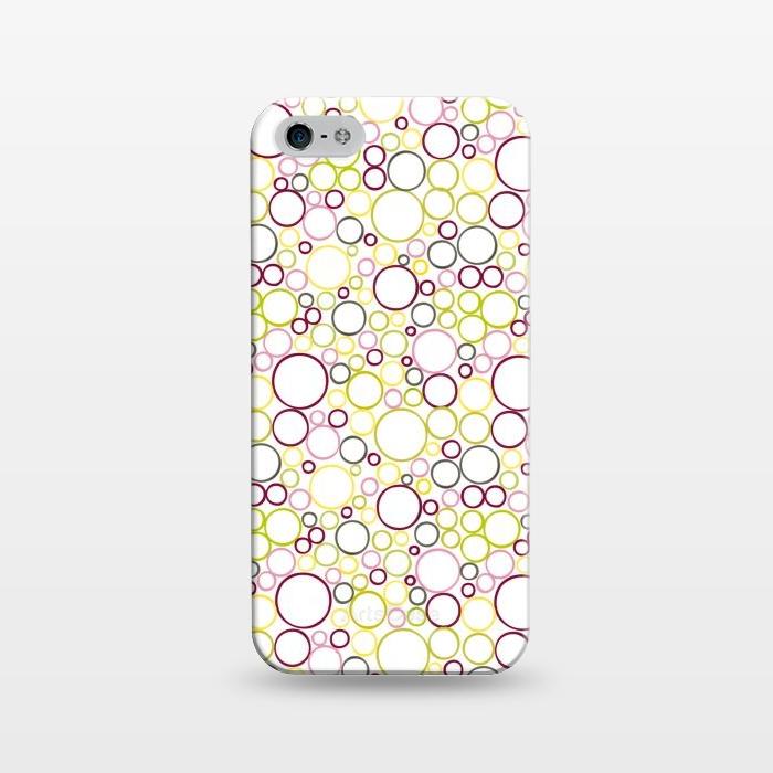 AC1243310, Phone Cases, iPhone 5/5E/5s, SlimFit, Julie Hamilton, Circle Circles, Designers,