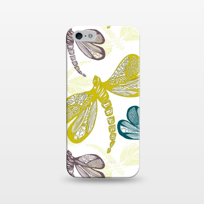 AC1243311, Phone Cases, iPhone 5/5E/5s, SlimFit, Julie Hamilton, Dragon fly, Designers,