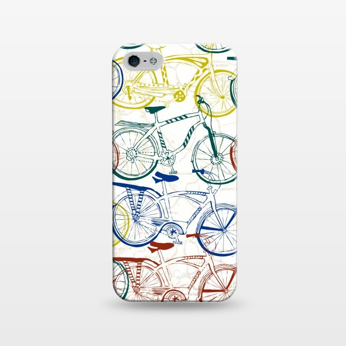 AC1243312, Phone Cases, iPhone 5/5E/5s, SlimFit, Julie Hamilton, Retro Cruiser, Designers,