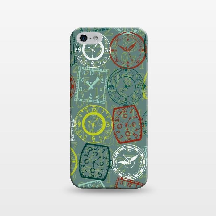 AC1243314, Phone Cases, iPhone 5/5E/5s, SlimFit, Julie Hamilton, Vintage Watch, Designers,