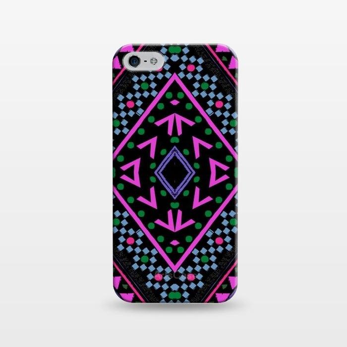 AC1243336, Phone Cases, iPhone 5/5E/5s, SlimFit, Nika Martinez, Neon Pattern, Designers,