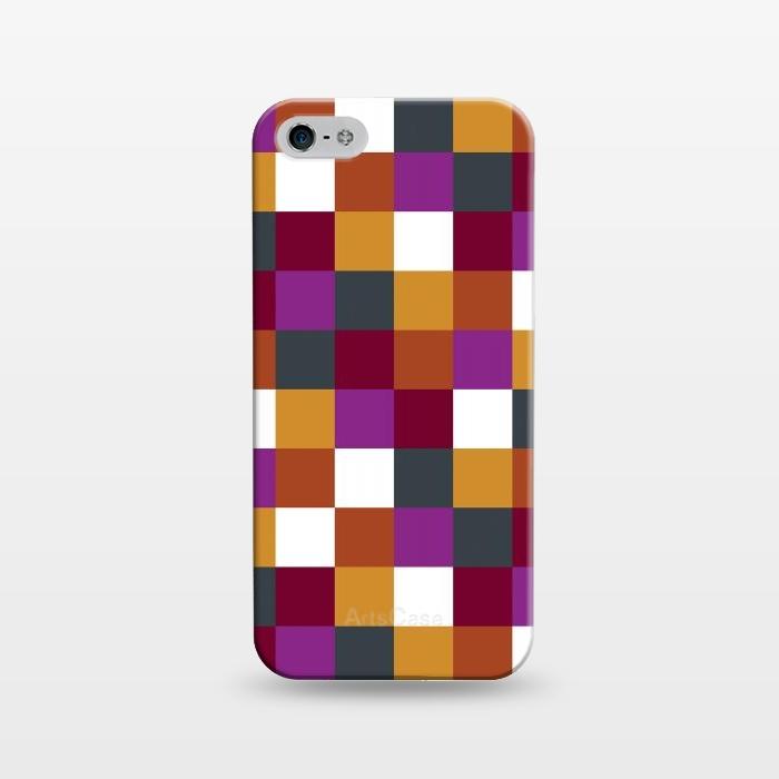 AC1243363, Phone Cases, iPhone 5/5E/5s, SlimFit, Karen Harris, Sudoku Warm, Designers,