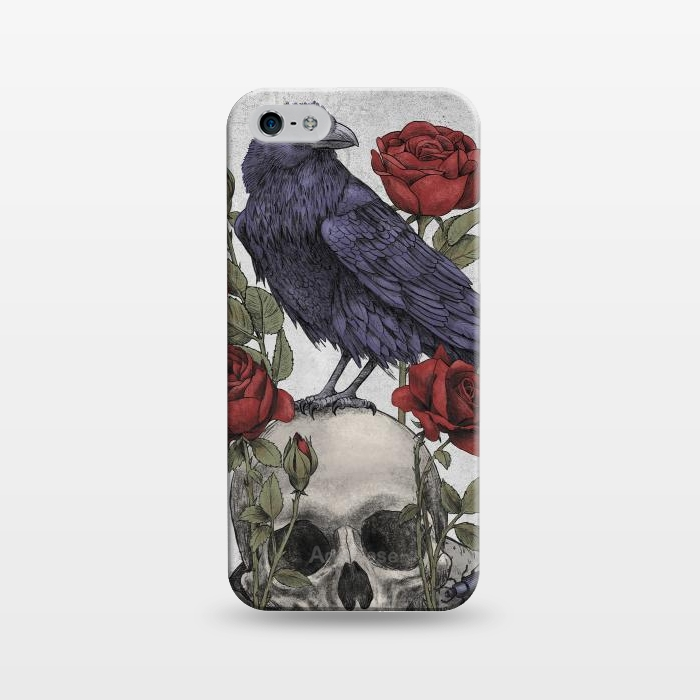 AC1243372, Phone Cases, iPhone 5/5E/5s, SlimFit, Terry Fan, Memento Mori, Designers,