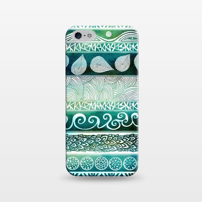 AC1243380, Phone Cases, iPhone 5/5E/5s, SlimFit, Pom Graphic Design, Dreamy Tribal, Designers,