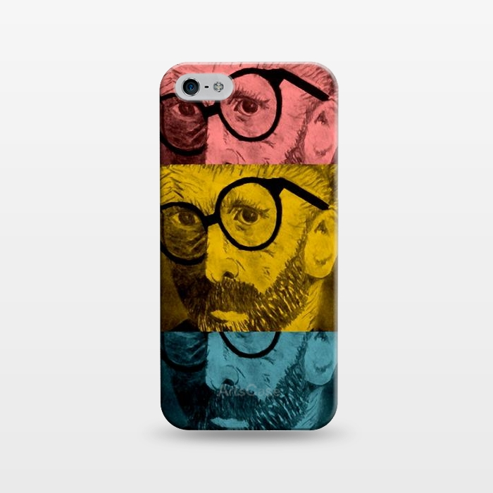 AC1243390, Phone Cases, iPhone 5/5E/5s, SlimFit, Josie Steinfort , Hipster Van Goghe, Designers,