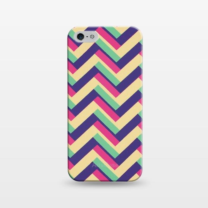 AC1243394, Phone Cases, iPhone 5/5E/5s, SlimFit, Josie Steinfort , 3D Chevron, Designers,