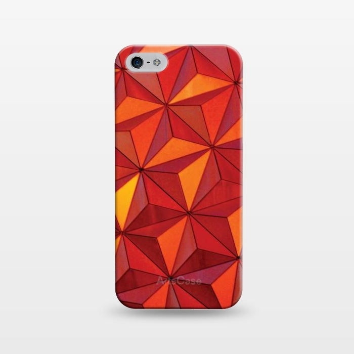 AC1243397, Phone Cases, iPhone 5/5E/5s, SlimFit, Josie Steinfort , Geometric Epcot, Designers,