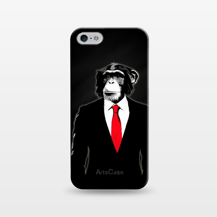AC1243420, Phone Cases, iPhone 5/5E/5s, SlimFit, Nicklas Gustafsson, Domesticated Monkey, Designers,