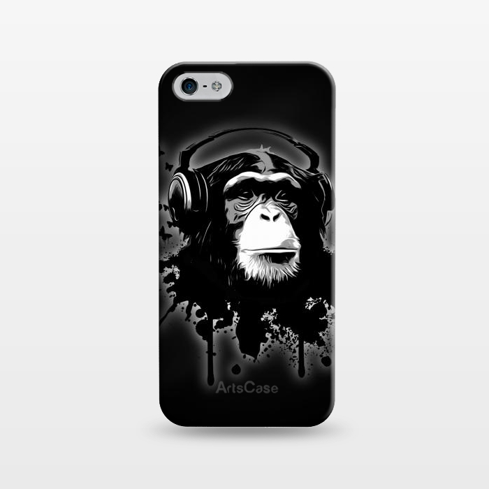 AC1243421, Phone Cases, iPhone 5/5E/5s, SlimFit, Nicklas Gustafsson, Monkey business Black, Designers,
