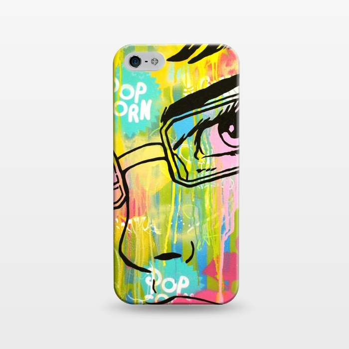 AC1243430, Phone Cases, iPhone 5/5E/5s, SlimFit, Scott Hynd, It's all in the Glasses, Designers,