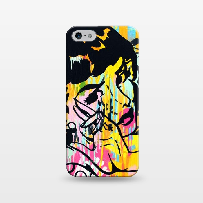 AC1243432, Phone Cases, iPhone 5/5E/5s, SlimFit, Scott Hynd, Wipe away that tear, Designers,