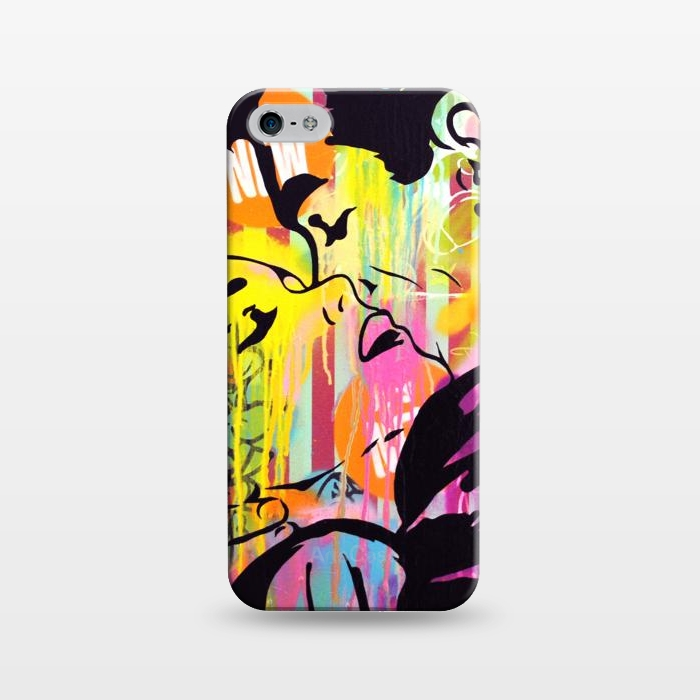 AC1243433, Phone Cases, iPhone 5/5E/5s, SlimFit, Scott Hynd, You're mad but I love you, Designers,