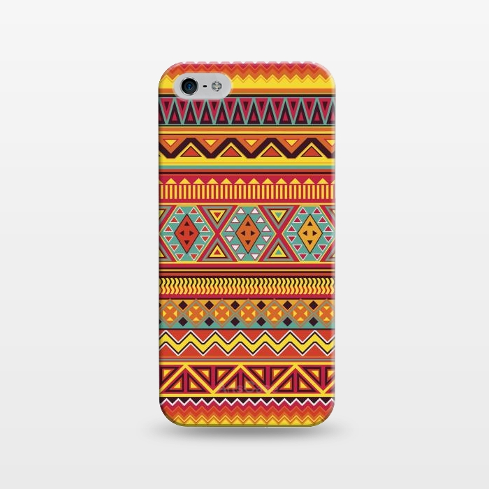 AC1243467, Phone Cases, iPhone 5/5E/5s, SlimFit, Diego Tirigall, AZTEC PATTERN, Designers,