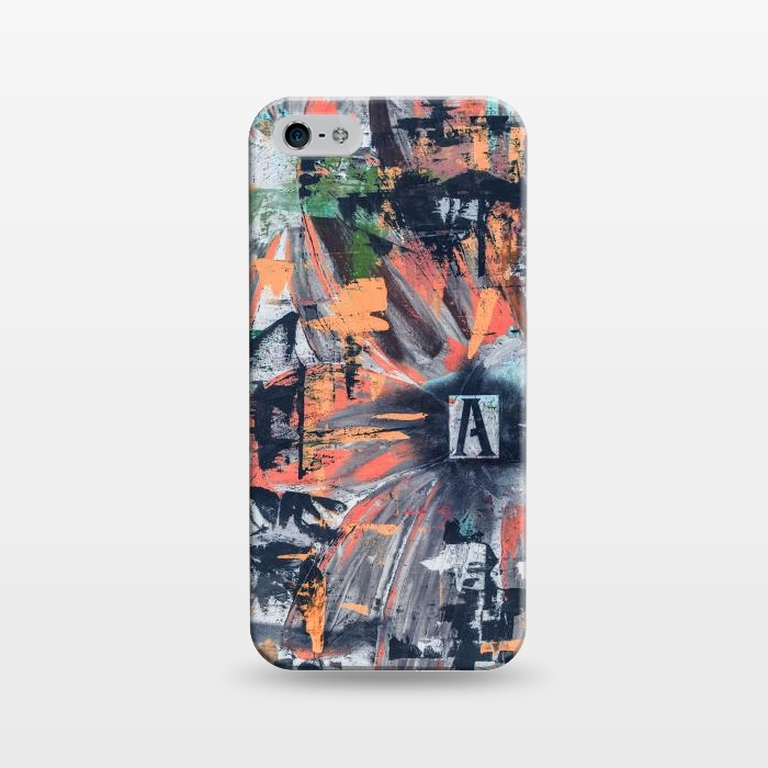 AC1243480, Phone Cases, iPhone 5/5E/5s, SlimFit, Bruce Stanfield, Floral Inversion, Designers,