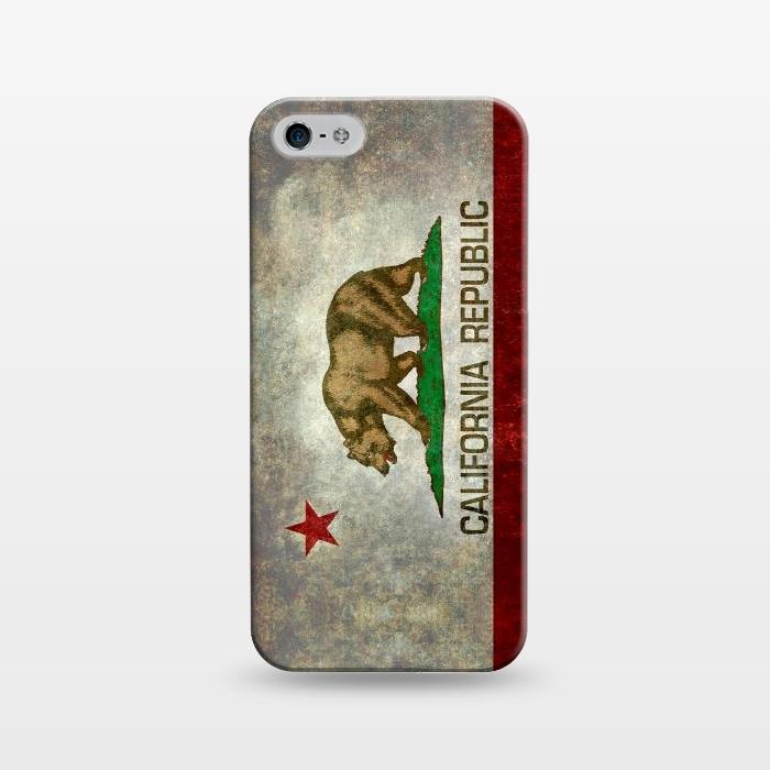 AC1243482, Phone Cases, iPhone 5/5E/5s, SlimFit, Bruce Stanfield, California Republic State, Designers,