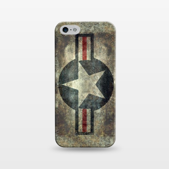 AC1243484, Phone Cases, iPhone 5/5E/5s, SlimFit, Bruce Stanfield, Airforce Roundel Retro, Designers,