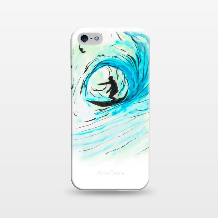 AC1243485, Phone Cases, iPhone 5/5E/5s, SlimFit, Bruce Stanfield, Surfer Pod, Designers,