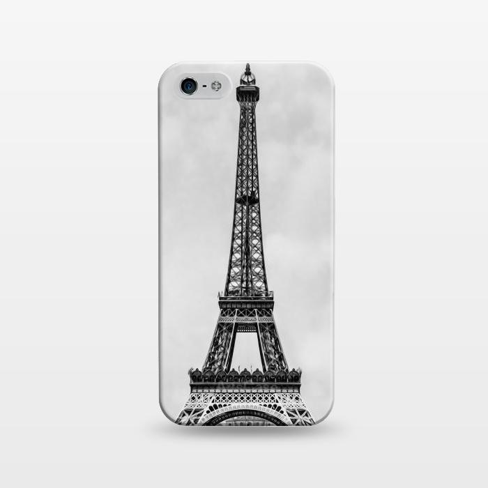 AC1243486, Phone Cases, iPhone 5/5E/5s, SlimFit, Bruce Stanfield, Tour Eiffel Retro, Designers,