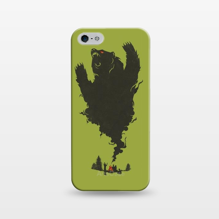 AC1243497, Phone Cases, iPhone 5/5E/5s, SlimFit, Jay Fleck, And there was Firein its Eyes, Designers,