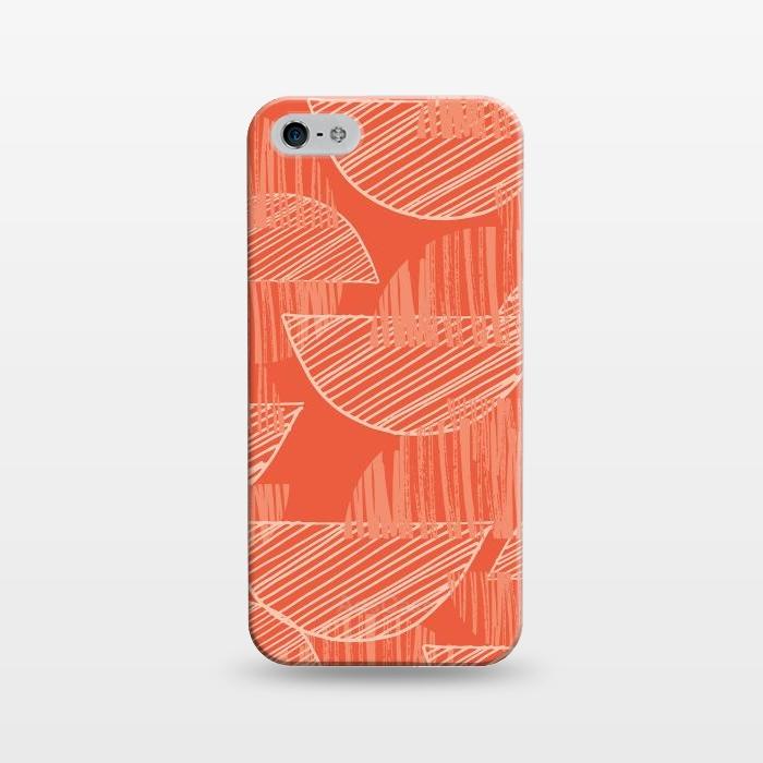 AC1243508, Phone Cases, iPhone 5/5E/5s, SlimFit, Rachael Taylor, Orange Arcs, Designers,