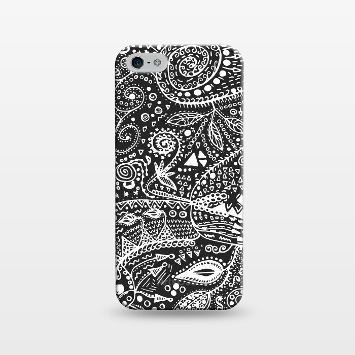 AC1243933, Phone Cases, iPhone 5/5E/5s, SlimFit, Eleaxart, B&W Hand made, Designers,