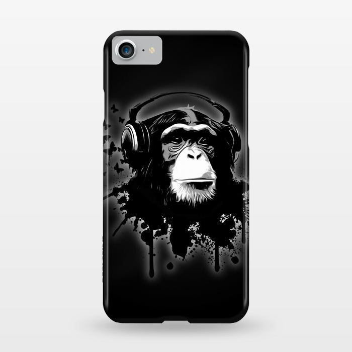 AC1247421, Phone Cases, iPhone 7, SlimFit, Nicklas Gustafsson, Monkey business Black, Designers,