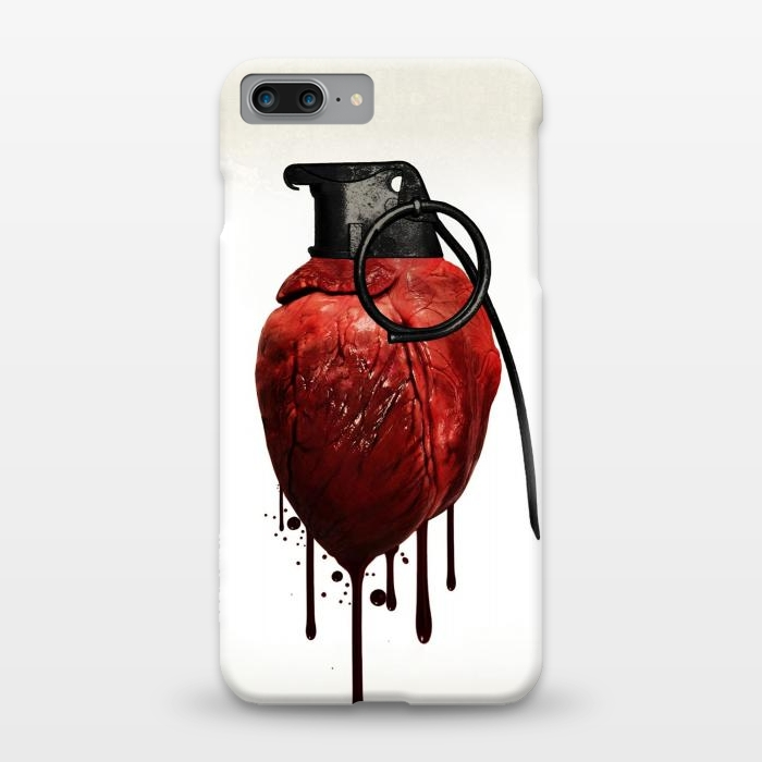 AC1248185, Phone Cases, iPhone 7 plus, SlimFit, Nicklas Gustafsson, Heart Grenade, Designers,