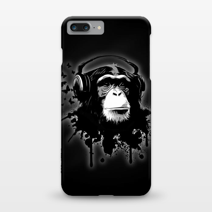 AC1248421, Phone Cases, iPhone 7 plus, SlimFit, Nicklas Gustafsson, Monkey business Black, Designers,