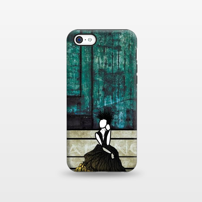 AC133815, Phone Cases, iPhone 5C, StrongFit, Amy Smith, Waiting, Designers,
