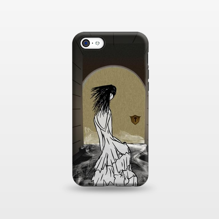 AC133816, Phone Cases, iPhone 5C, StrongFit, Amy Smith, Ghost in the Hallway, Designers,