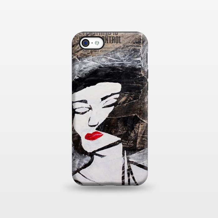 AC133817, Phone Cases, iPhone 5C, StrongFit, Amy Smith, Under Control, Designers,