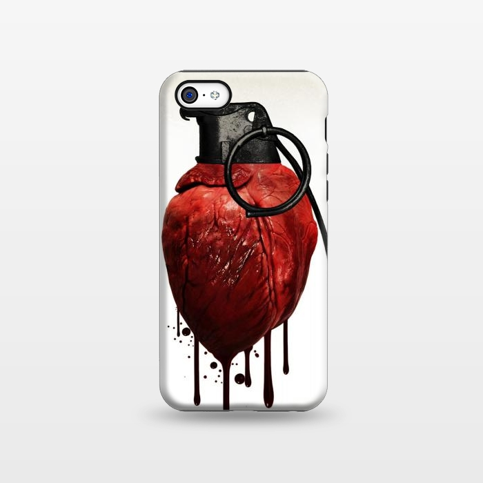 AC1338185, Phone Cases, iPhone 5C, StrongFit, Nicklas Gustafsson, Heart Grenade, Designers,