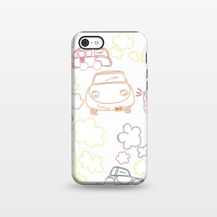 AC1338231, Phone Cases, iPhone 5C, StrongFit, MaJoBV, Stitched Cars, Designers,