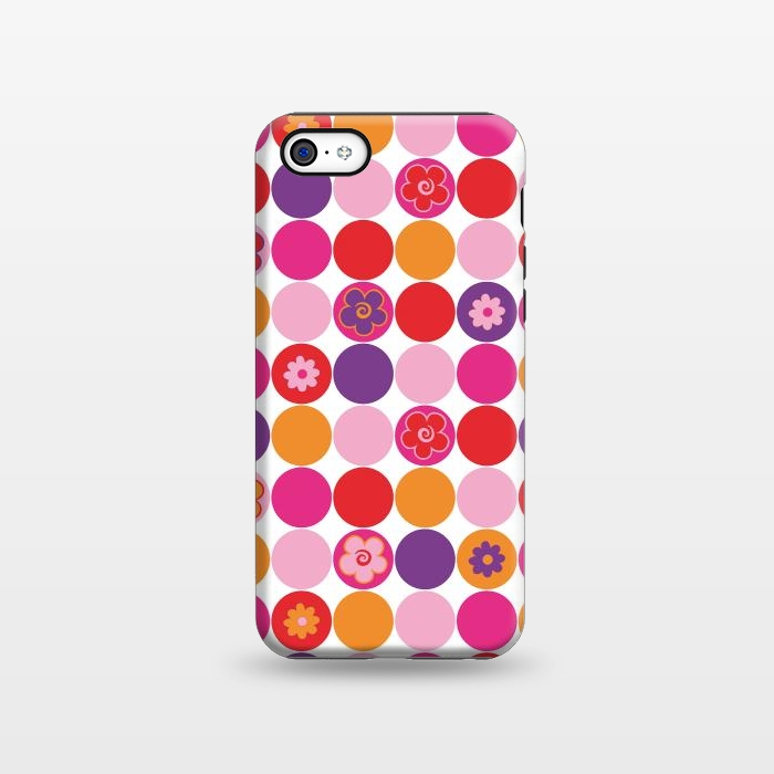 AC1338250, Phone Cases, iPhone 5C, StrongFit, Julia Grifol, Spring Circles, Designers,