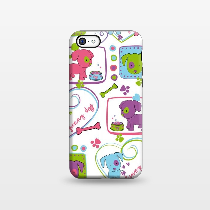 AC1338252, Phone Cases, iPhone 5C, StrongFit, Julia Grifol, My Loving Dogs, Designers,
