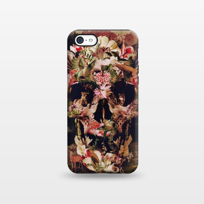 AC1338273, Phone Cases, iPhone 5C, StrongFit, Ali Gulec, Jungle Skull, Designers,