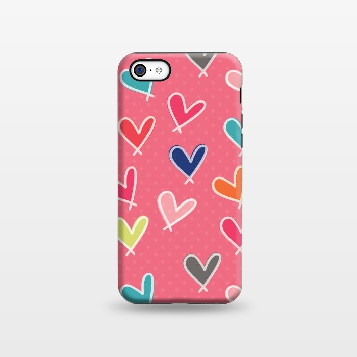 AC1338282, Phone Cases, iPhone 5C, StrongFit, Rosie Simons, Pink Blow Me One Last Kiss, Designers,