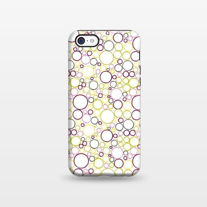 AC1338310, Phone Cases, iPhone 5C, StrongFit, Julie Hamilton, Circle Circles, Designers,