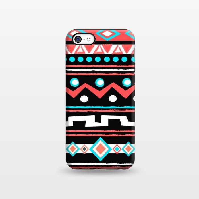 AC1338334, Phone Cases, iPhone 5C, StrongFit, Nika Martinez, Black Tipi, Designers,