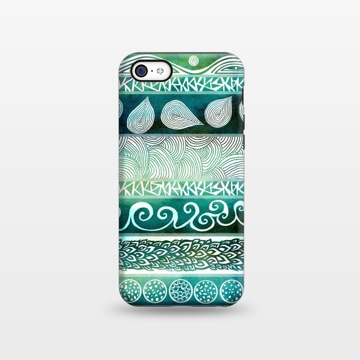 AC1338380, Phone Cases, iPhone 5C, StrongFit, Pom Graphic Design, Dreamy Tribal, Designers,