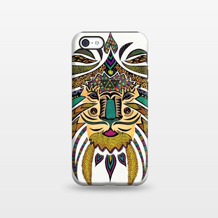 AC1338381, Phone Cases, iPhone 5C, StrongFit, Pom Graphic Design, Emperor Tribal Lion, Designers,