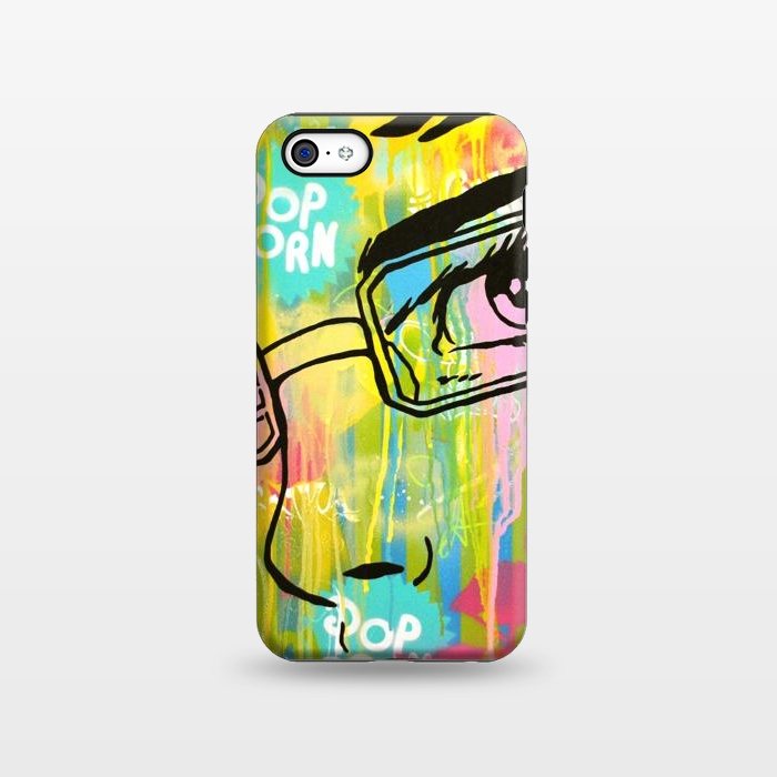 AC1338430, Phone Cases, iPhone 5C, StrongFit, Scott Hynd, It's all in the Glasses, Designers,