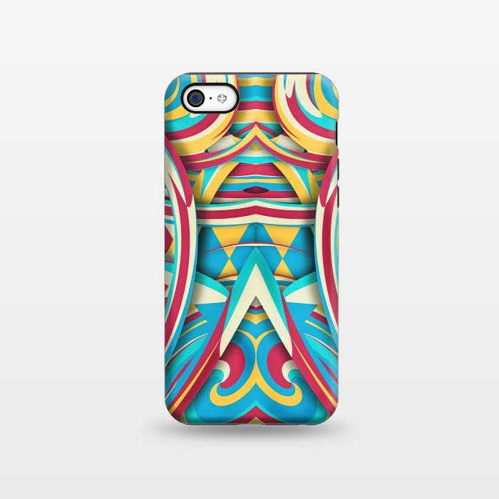 AC1338447, Phone Cases, iPhone 5C, StrongFit, Eleaxart, Spiral Color, Designers,