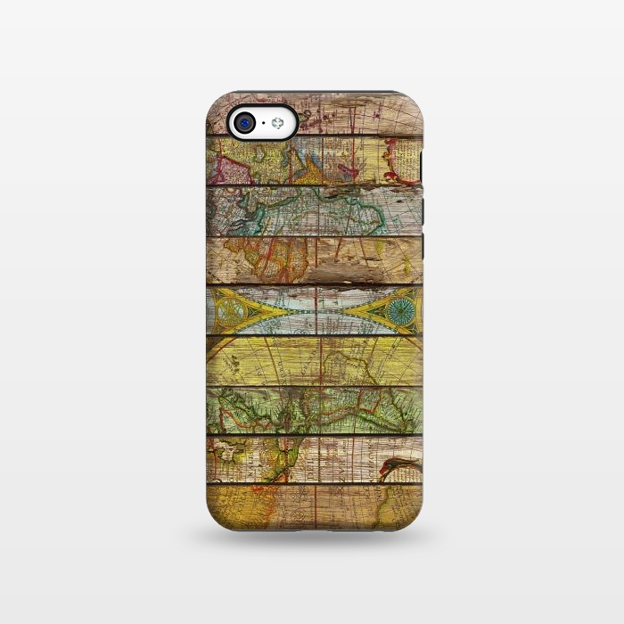 AC1338464, Phone Cases, iPhone 5C, StrongFit, Diego Tirigall, AROUND THE WORLD IN THIRTEEN MAPS, Designers,