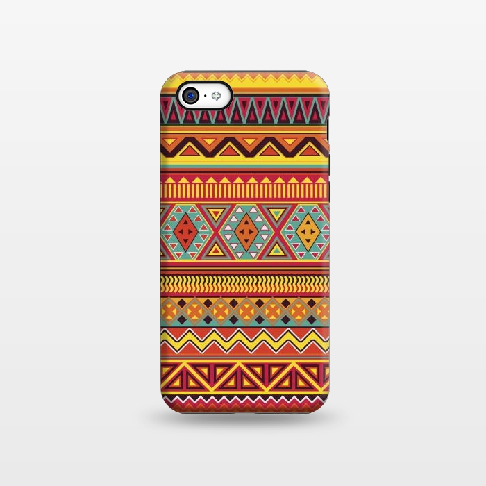 AC1338467, Phone Cases, iPhone 5C, StrongFit, Diego Tirigall, AZTEC PATTERN, Designers,