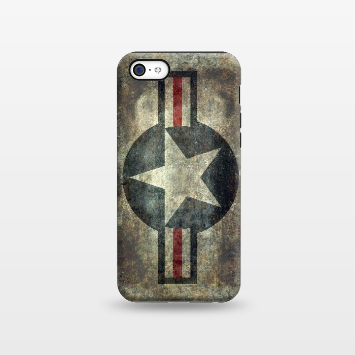 AC1338484, Phone Cases, iPhone 5C, StrongFit, Bruce Stanfield, Airforce Roundel Retro, Designers,